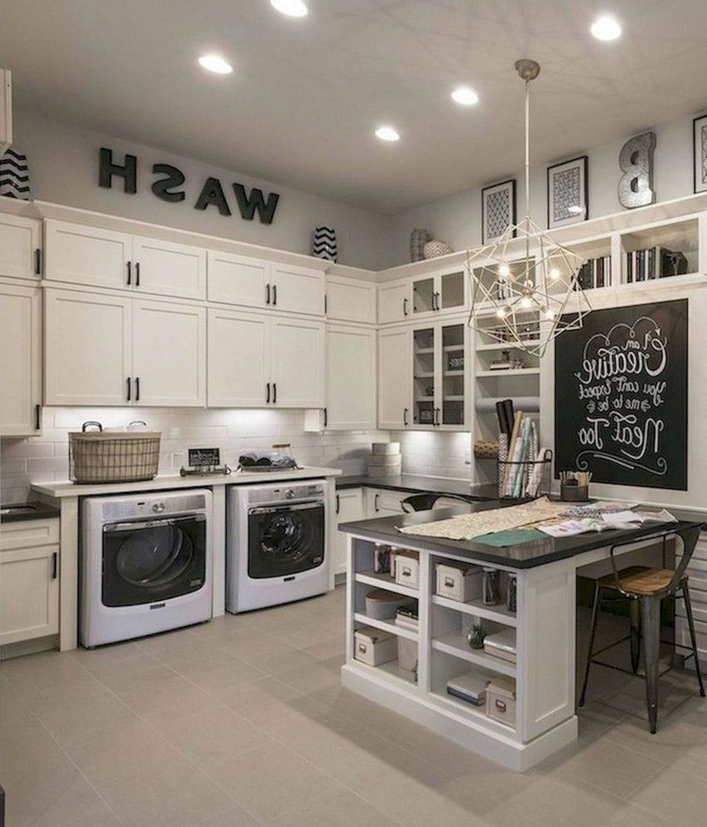 20+ Cute Laundry Room Storage Shelves Ideas To Consider ... on Laundry Room Shelves Ideas  id=24145