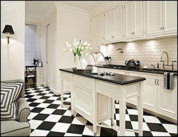 Incredible Black And White Kitchen Ideas To Try33
