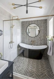 Latest Bathroom Decor Ideas That Match With Your Home Design31