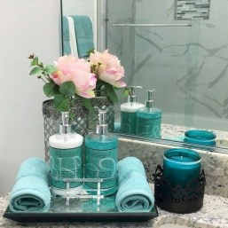 Latest Bathroom Decor Ideas That Match With Your Home Design32