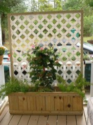 Pretty Privacy Fence Planter Boxes Ideas To Try34