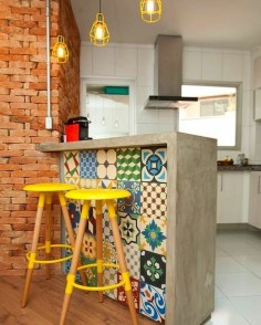 Unordinary Kitchen Colors Design Ideas That Looks Cool27