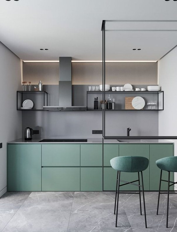 Unordinary Kitchen Colors Design Ideas That Looks Cool48