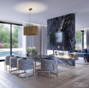 Wonderful Contemporary Dining Room Decorating Ideas To Try30