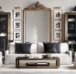 Awesome Living Room Mirrors Design Ideas That Will Admire You20