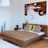 Casual Contemporary Floating Bed Design Ideas For You16