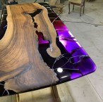 Classy Resin Wood Table Ideas For Your Furniture01