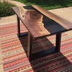 Classy Resin Wood Table Ideas For Your Furniture04