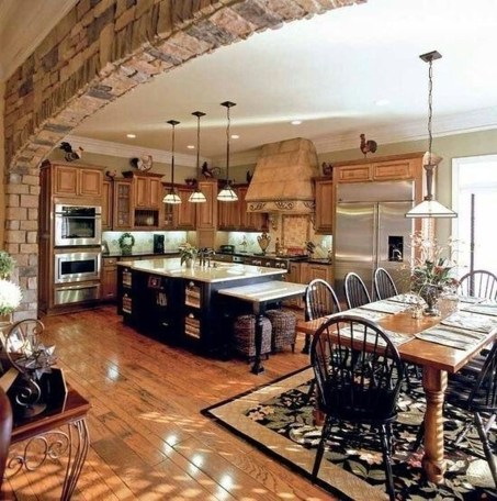 Extraordinary Big Open Kitchen Ideas For Your Home36