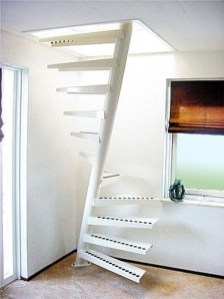 Incredible Stairs Design Ideas For The Attic To Try15