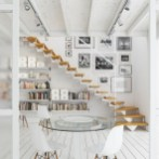 Incredible Stairs Design Ideas For The Attic To Try17
