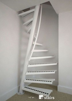 Incredible Stairs Design Ideas For The Attic To Try31
