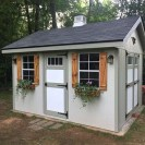 Incredible Studio Shed Designs Ideas For Your Backyard05