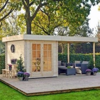 Incredible Studio Shed Designs Ideas For Your Backyard11