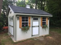 Incredible Studio Shed Designs Ideas For Your Backyard15