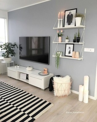 Perfect Apartment Decoration Ideas To Copy Asap37