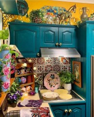 Unusual Bohemian Kitchen Decorations Ideas To Try05