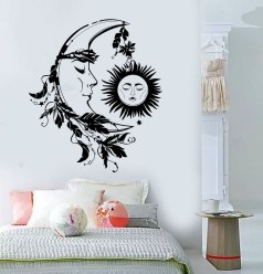 Vintage Bedroom Wall Decals Design Ideas To Try29