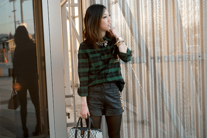 HUNTER GREEN PLAID – TREND ENVY