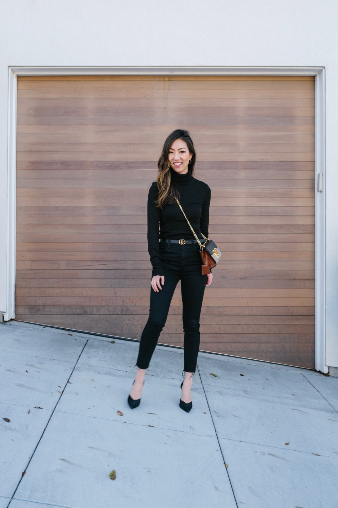 why black on black always looks good – trend envy