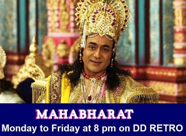 DD Retro Channel, Mahabharat on DD Retro Channel