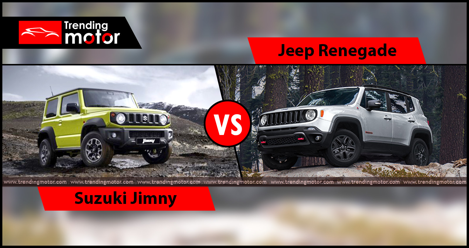 Suzuki Jimny Vs Jeep Renegade: Specifications & Features Comparison 2018
