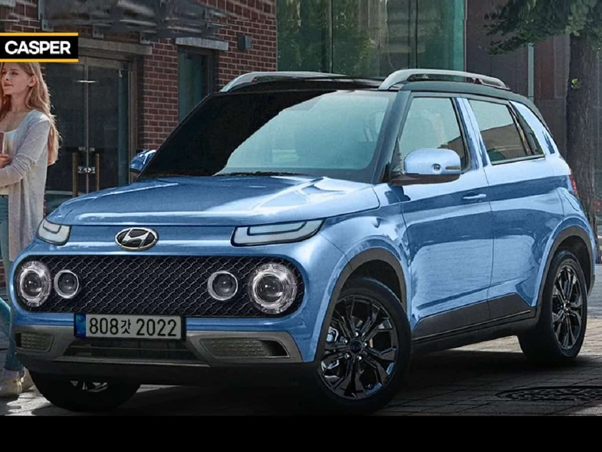 The Hyundai Casper is a small SUV that will be released next month