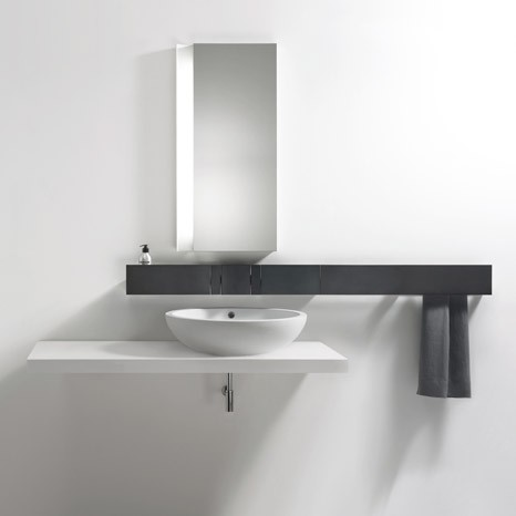 Aluminium faucet system from Agape Sen