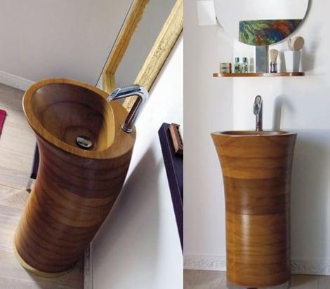Lavadero de ba o con madera es cuesti n de madera for Lavadero para bano
