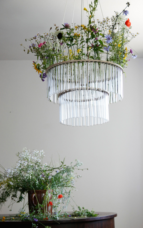 Glass Tube Chandelier Maria By Gang Design