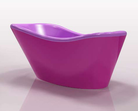 Nina Series From Gruppo Treesse Modern Customizable Tubs