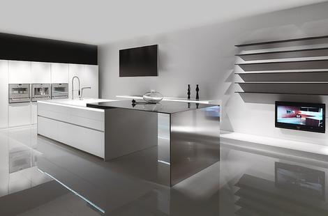 MK Style 012 Kitchen is made from 100% Corian