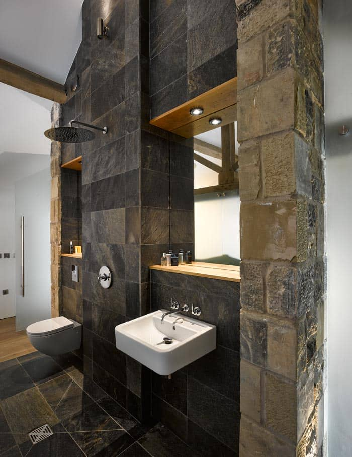 Historic Barn Reinvented Into Modern Home With Exposed