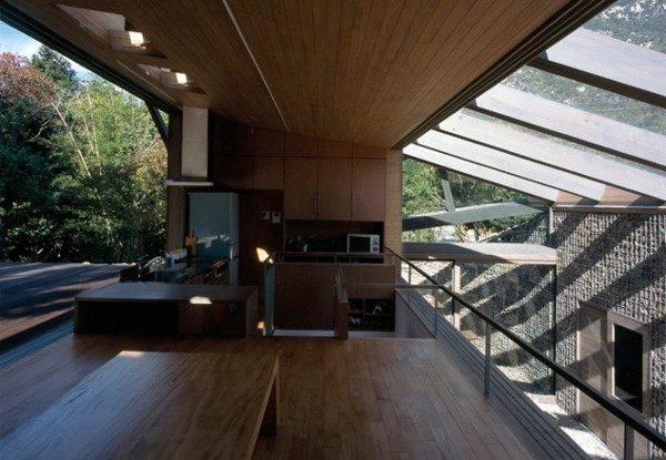 Glass Roof House To Love The Earth And You Modern House