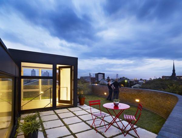 Brick House Architecture Goes Ultra Modern Modern House