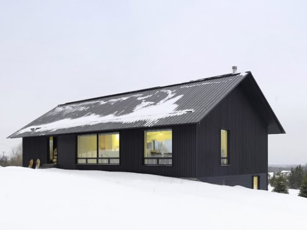 Contemporary Chalet House Plans Canadian Winter