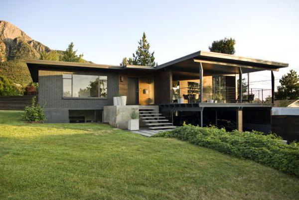 Utah Modern Homes for Sale - dark walnut makes it ...