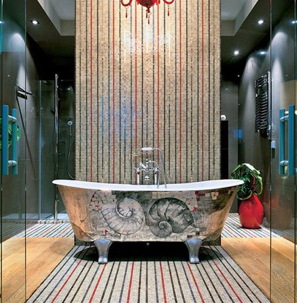 Mosaic Tile Interior Design Decorating With Sicis PixALL