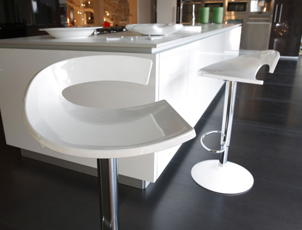 Cool Barstool From Gaber Swing Ultra Modern Decor