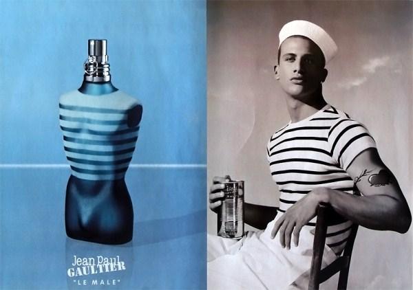 Pub Parfum homme Jean-Paul Gaultier Le Mâle