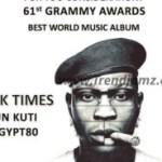 (WATCH): Seun Kuti Talks About Winning Grammy With 'Black Times' Album