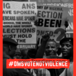 David Mode Security: Election 2019 'Vote Not Violence' Campaign