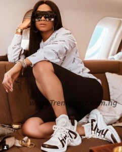 Gist: Toke Makinwa Reveals The Best Revenge Anyone Can Give An Ex After A Broken Relationship