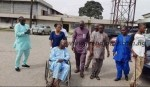 Gist: Excitement As Veteran Actor, Baba Suwe, Gets Discharged From LUTH