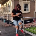 Gist: Funke Akindele Excites Fans On Instagram By Doing The Zanku Leg Work Dance (Video)