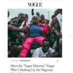 E! News: I Made It To Vogue!!! – Singer Teni Featured On Vogue Magazine