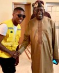 Gist: Small Doctor Looking Humble As He Poses With Bola Tinubu (Photo)