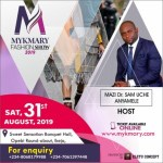 Gist: Nollywood actor Sam Uche-Anyamele and Maureen Okpoko Set to Host Mykmary Fashion Show 2019