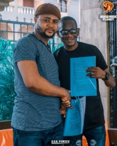 E! News: Chizzyboy Signs A 4-years Deal With Ubagu Music Planet
