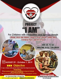 "Gist: Project ""I AM"" (My 28th Dream) ROCC Africa"